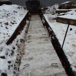 Перекладка теплотрассы на Киновеевском кладбище
