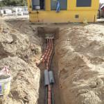 Строительство КЛ-0,4 кВ для многоквартирного жилого дома в пос.Романовка (2)