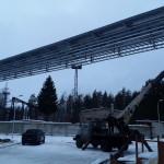 Строительство кабельной эстакады на территории завода им.Климова (3)