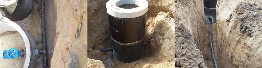 1 Прокладка водопровода к торговым комплексам