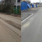 Реконструкция автодороги по ул Тихая посёлок Мурино (3)